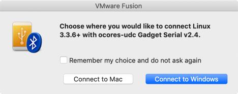 Cinnect mini USB Serial to MacOSX