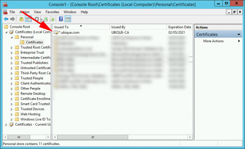 Certificate No Key Icon