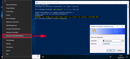 Join a Domain With PowerShell