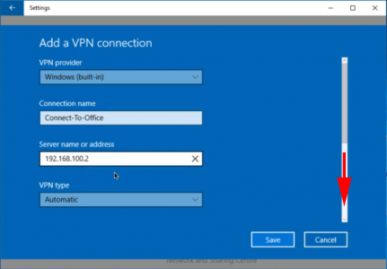 Windows 10 IPSEC VPN Settings