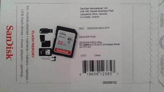 SSD Audi 32GB