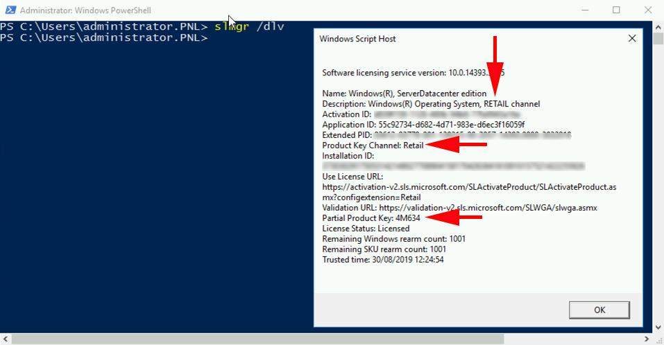 Recovering Windows Activation Keys | PeteNetLive