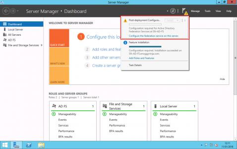 Configure ADFS