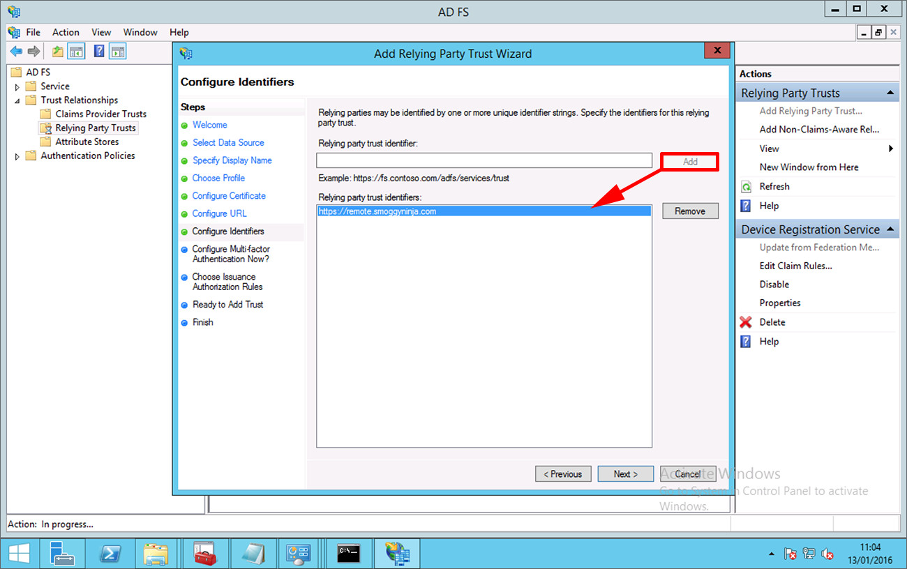 Publishing Remote Desktop Services With Web Application