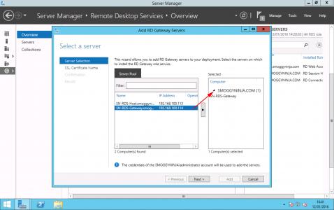 Install Remote Desktop Gateway