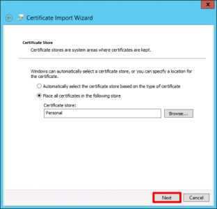 Certificate Store