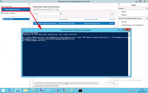 Web Application Gateway PowerShell