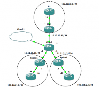 OSPF over DMVPN