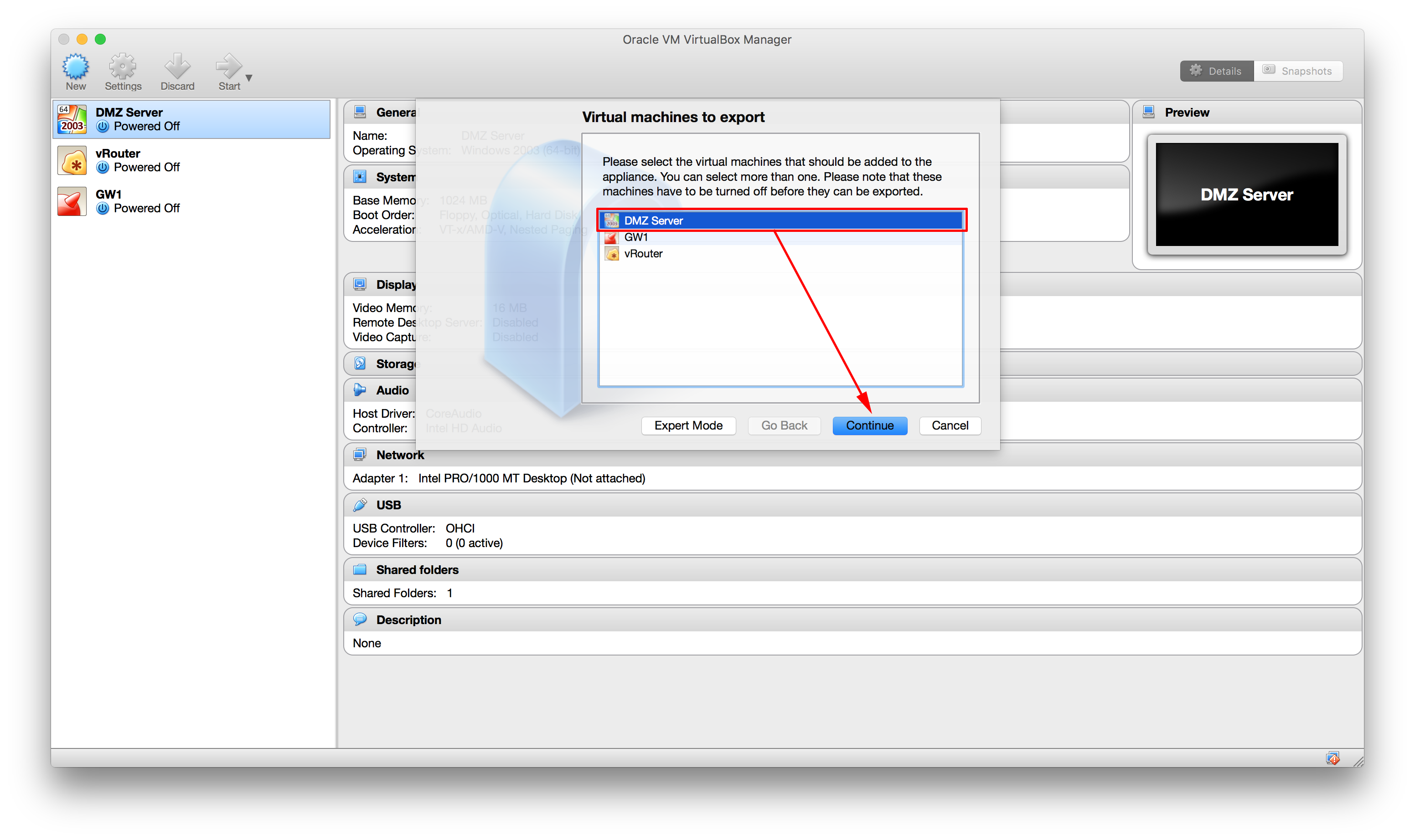 Convert a Virtualbox VM to a VMware Fusion VM | PeteNetLive