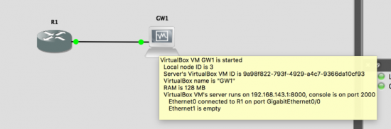 GNS3 connect to Firewall