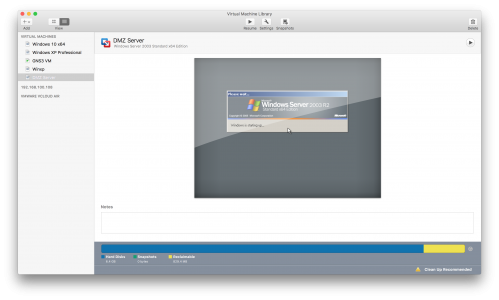 Fusion convert VM from Virtualbox