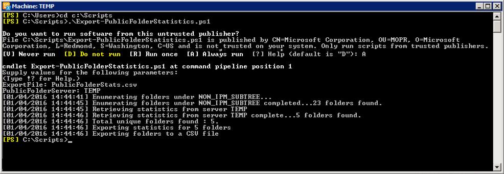 PeteNetLive - KB0000789 - Migrating Public Folders from