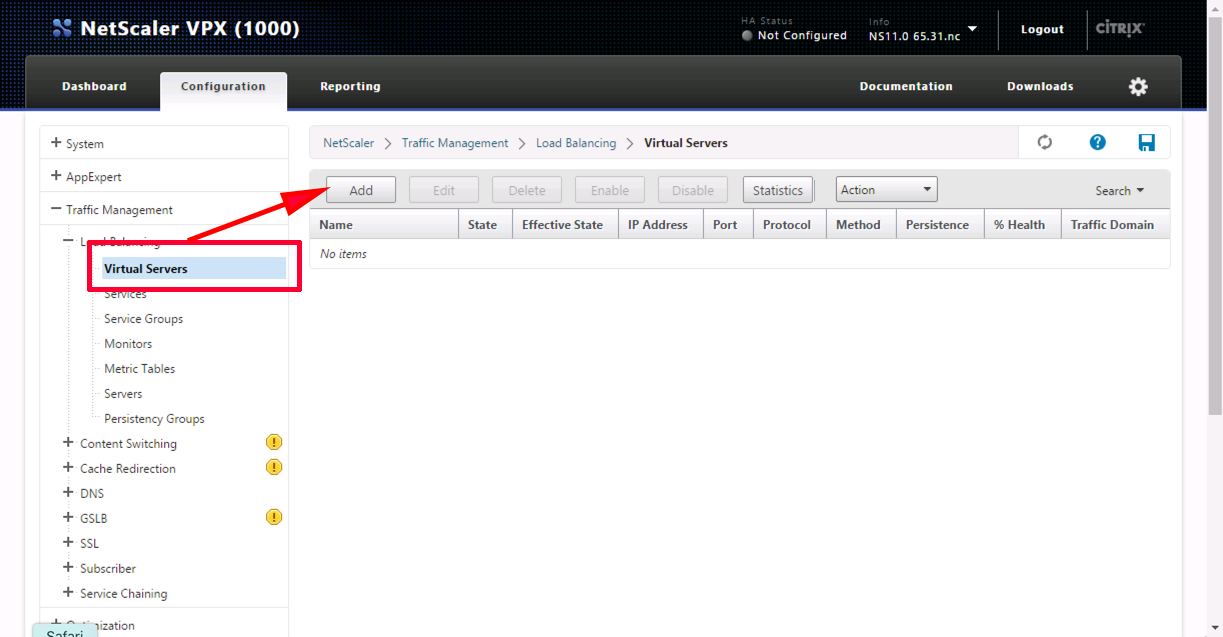 Citrix NetScaler - SSL Offloading | PeteNetLive