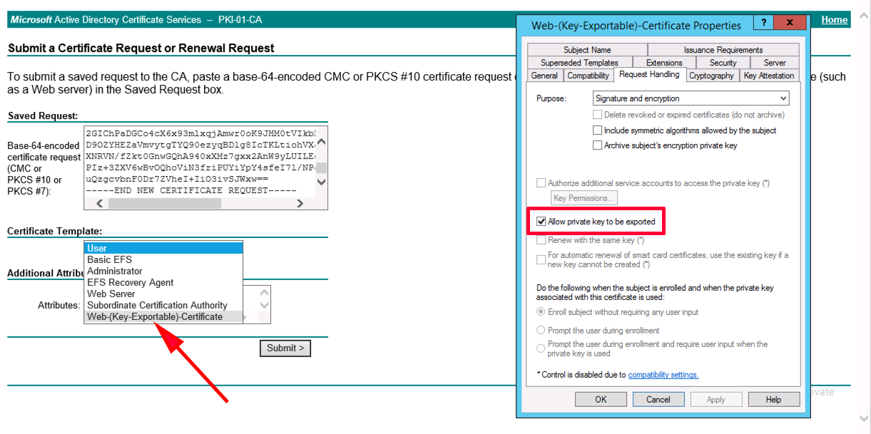 Citrix netscaler certificate is not a server certificate exportable private key open the certificate yelopaper Gallery