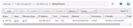 SSL Virtual Server Down