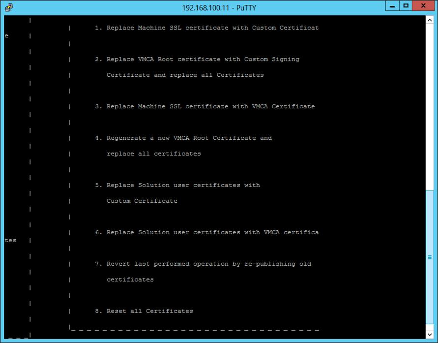 Vsphere 6 Vcenter Appliance Replacing Certificates Petenetlive