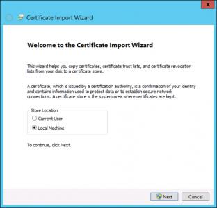 Export CA Certificate