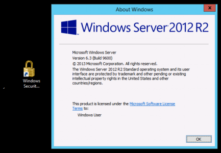 005 Windows Security Shortcut Server 2012