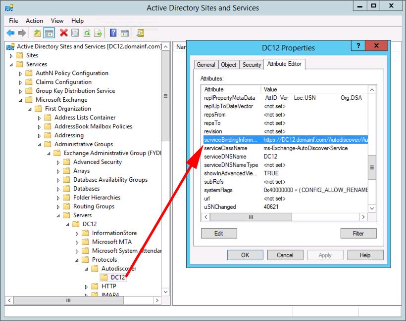 Exchange AutoDiscover Errors - Creating an AutoDiscover SRV