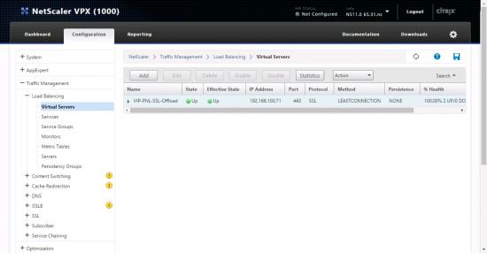 NetScaler SSL Offload