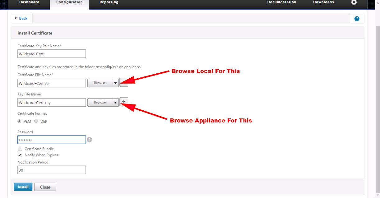 Citrix Netscaler Certificate Is Not A Server Certificate