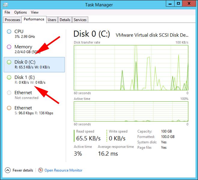 Windows Server - Disk Performance Missing From Task Manager