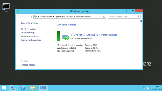 Update Windows Server