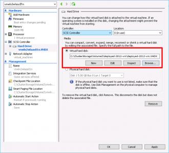Hyper-V Import Virtual Disk