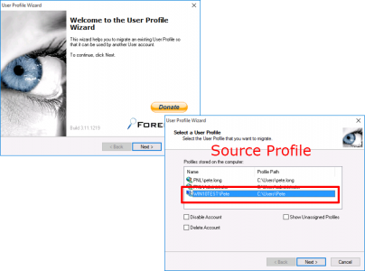 ForensIT Migrate Local Profile