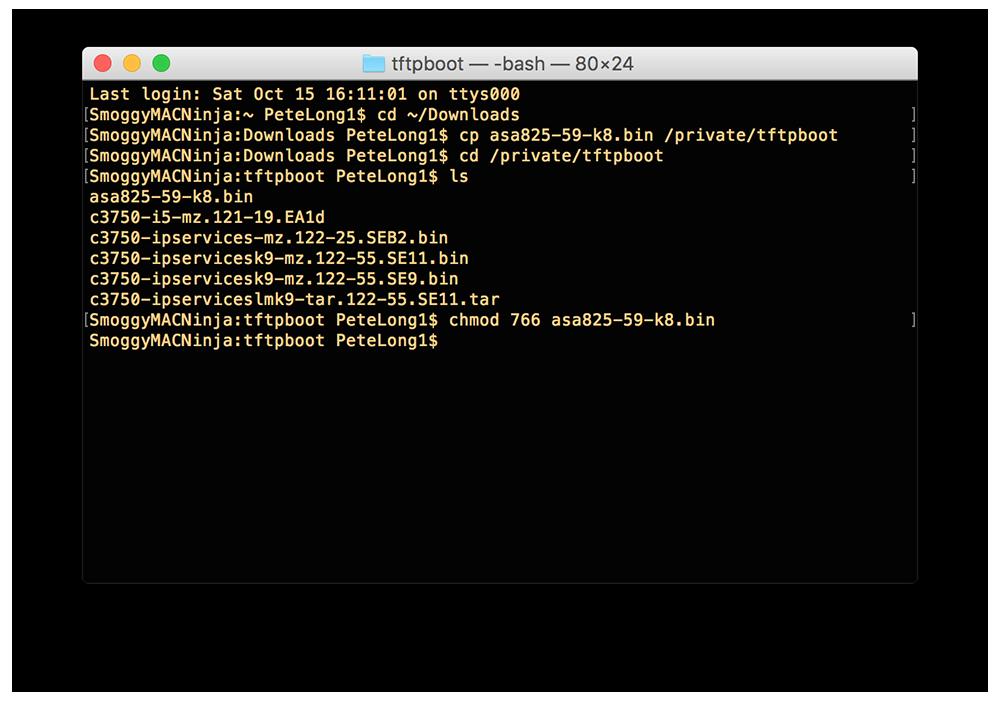 MAC OS X TFTP Software | PeteNetLive