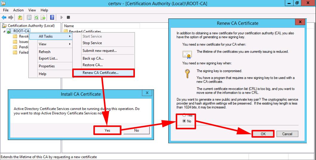 Certificate Services Migrate Form Sha1 To Sha2 Sha256 Petenetlive