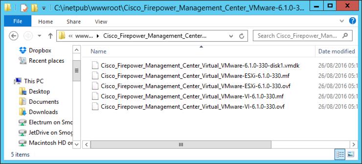 Deploy Cisco FirePOWER Management Center (Appliance) | PeteNetLive