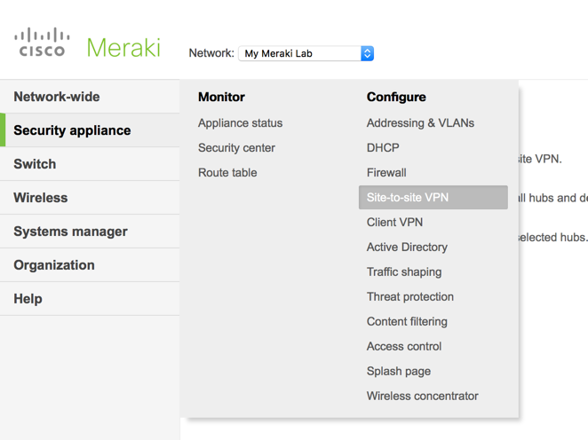 Meraki Help: The Client VPN, Layer 3 Switching and MDM