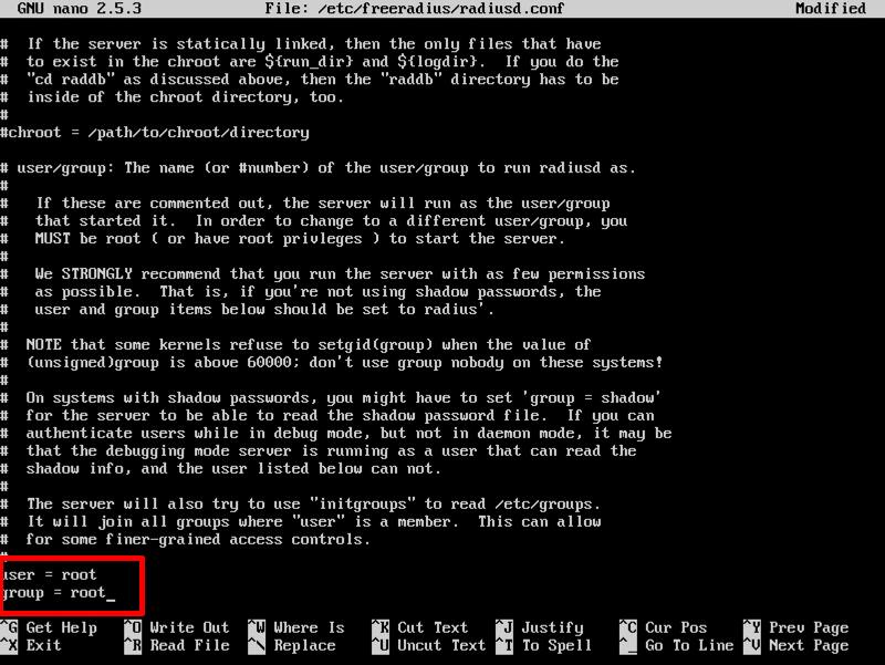 install freeradius for ubuntu 16.04