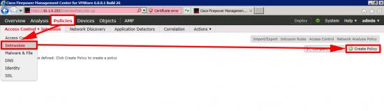 IDS IPS Config