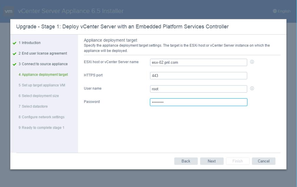 Upgrade vSphere vCenter Appliance to Version 6 5   PeteNetLive