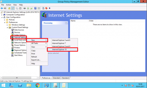 Proxy Settings via Group Policy