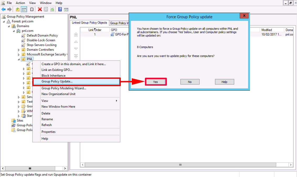 Windows - Forcing Domain Group Policy | PeteNetLive