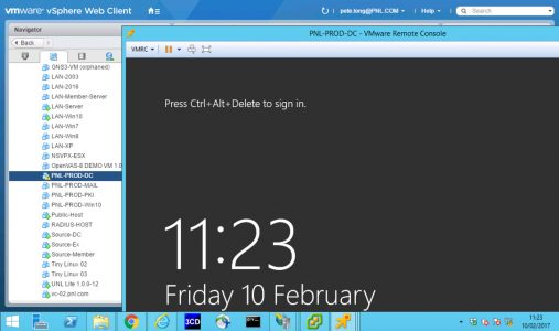 Disable Windows Server Lock Screen