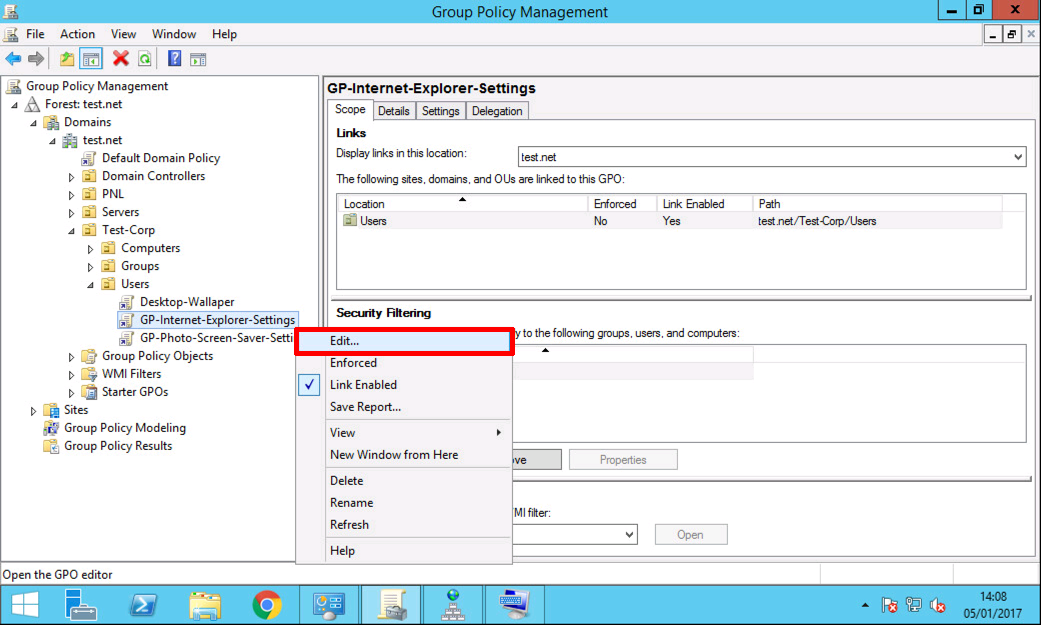 Windows Deploy and Configure Photo Screen Saver via GPO | PeteNetLive