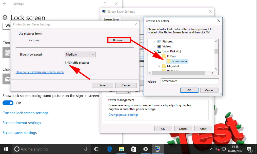Windows Deploy And Configure Photo Screen Saver Via Gpo Petenetlive