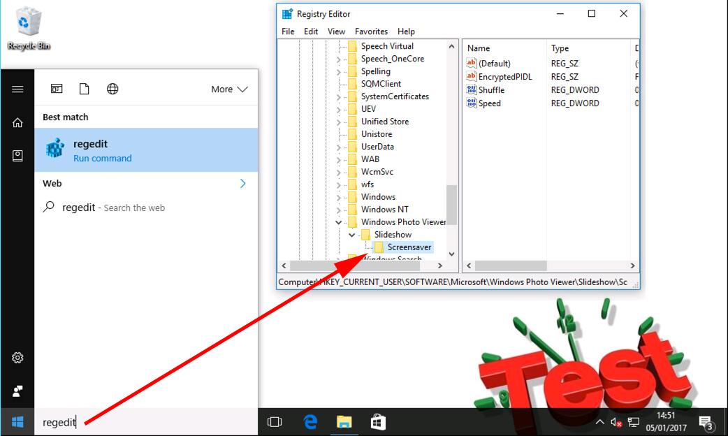 Windows Deploy and Configure Photo Screen Saver via GPO
