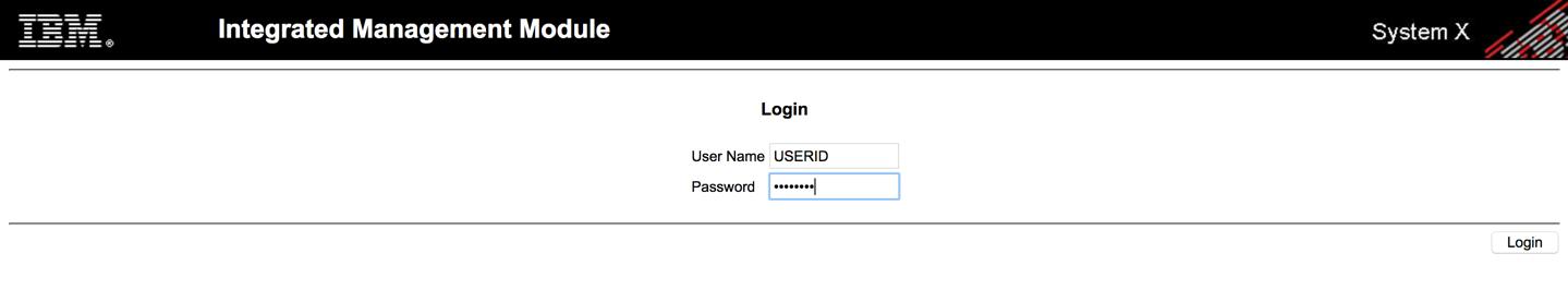 Reset IBM / Lenovo IMM username and password | PeteNetLive