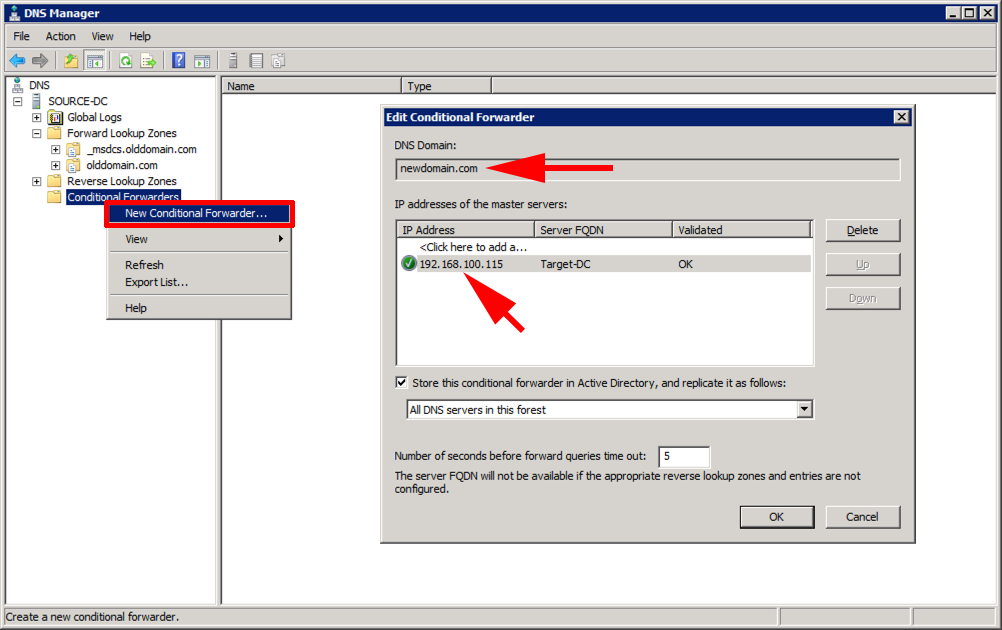 ADMT (Active Directory Migration Tool) Domain Migration - Part 1
