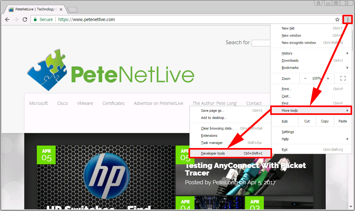 Chrome Browser Show Sites Ssl Https Certificate Petenetlive