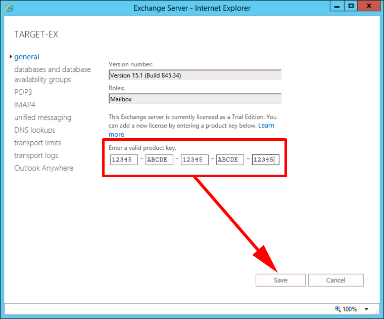 How To Install Exchange 2016 (Greenfield Site) – Part 3