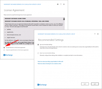 Exchange 2016 Accept EULA