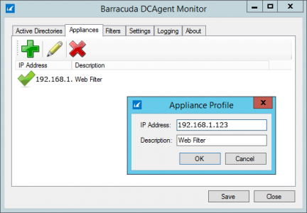 Add Device to Barracuda Agent