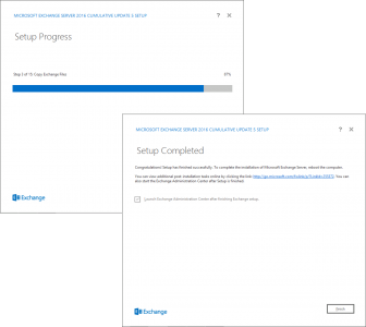 Exchange 2016 setup and deploy