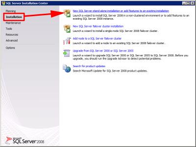 ADMT SQL Install
